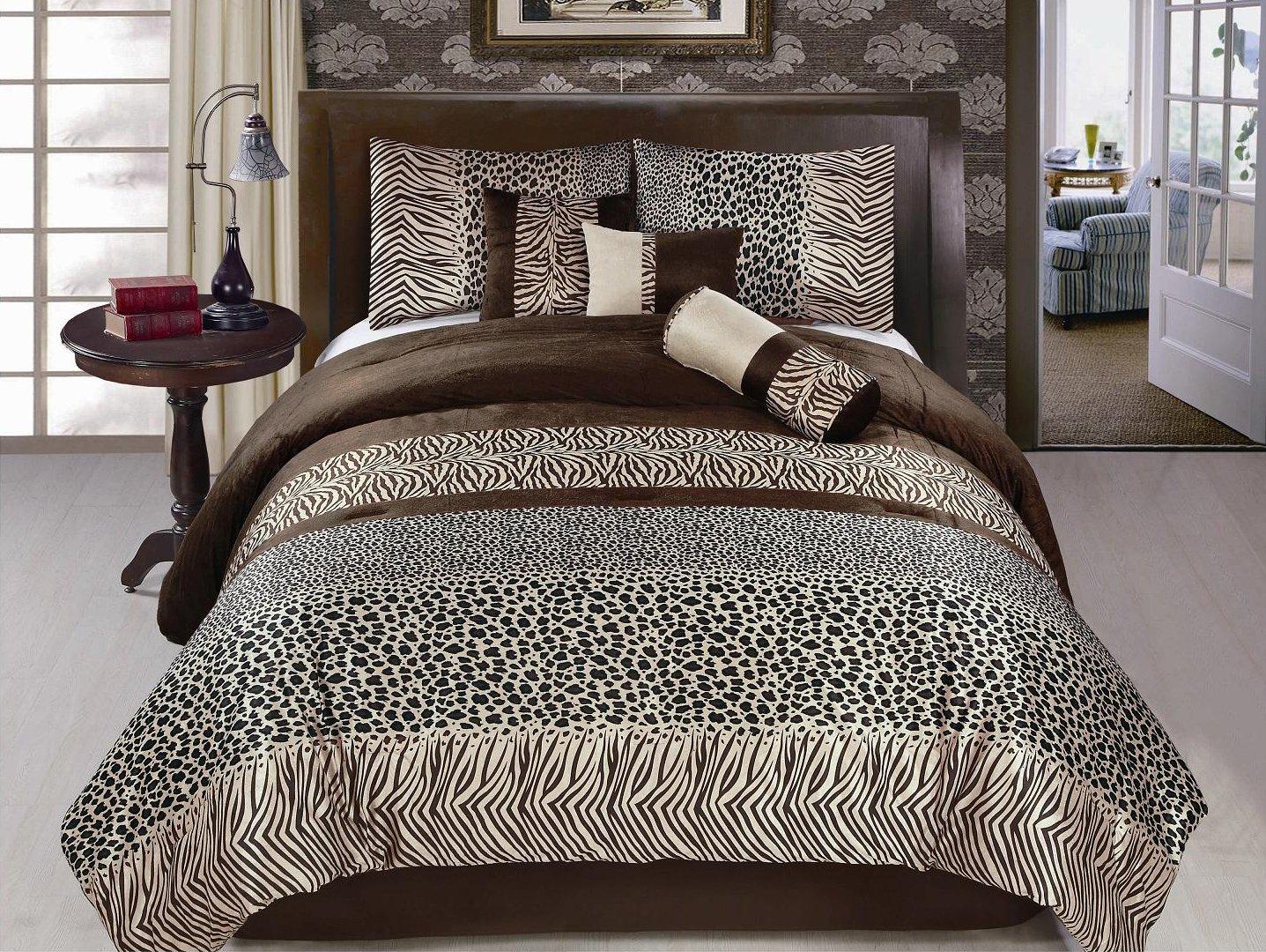 animal print bedding