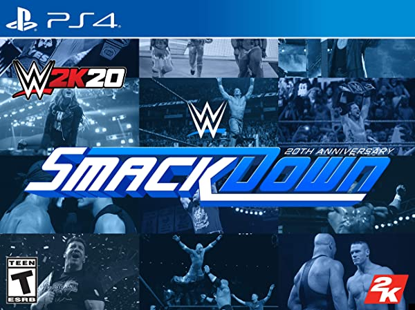 WWE 2K20 SmackDown! 20th Anniversary Edition - PlayStation 4