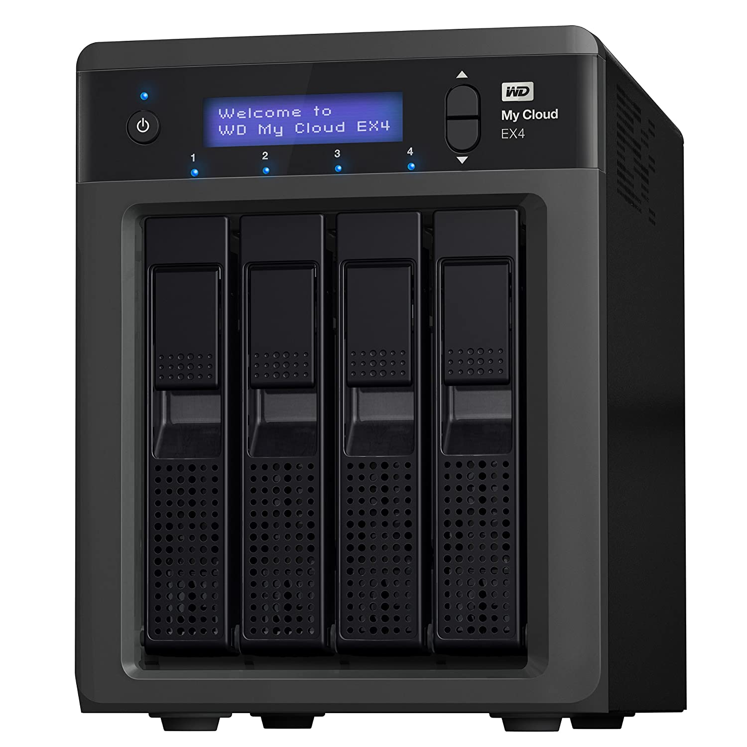 WD My Cloud EX4 Diskless: High-performance NAS, Ultimate reliability
