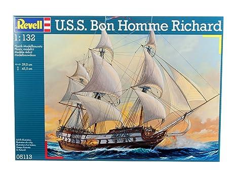 Revell - 05113 - Maquette - U S S BonHomme Richard