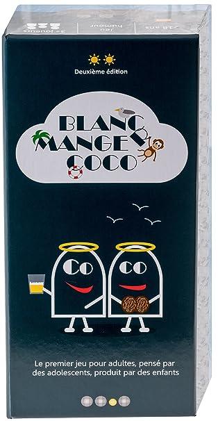 Blanc-Manger Coco - Le 1er jeu pour adultes pensé par des ados, produit par des enfants - 600 cartes ;-))