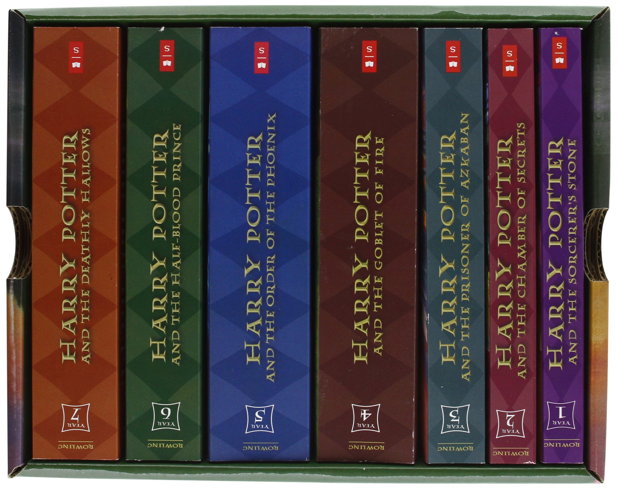 Harry Potter (series) by J. K. Rowling