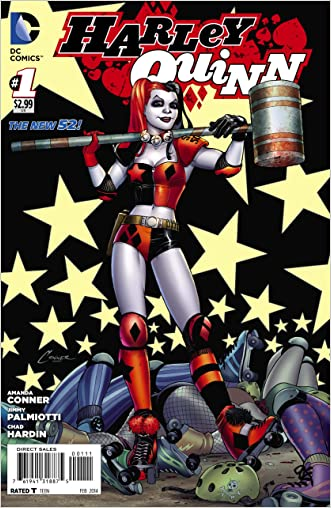 Harley Quinn #1 written by Jimmy Palmiotti Amanda Conn
