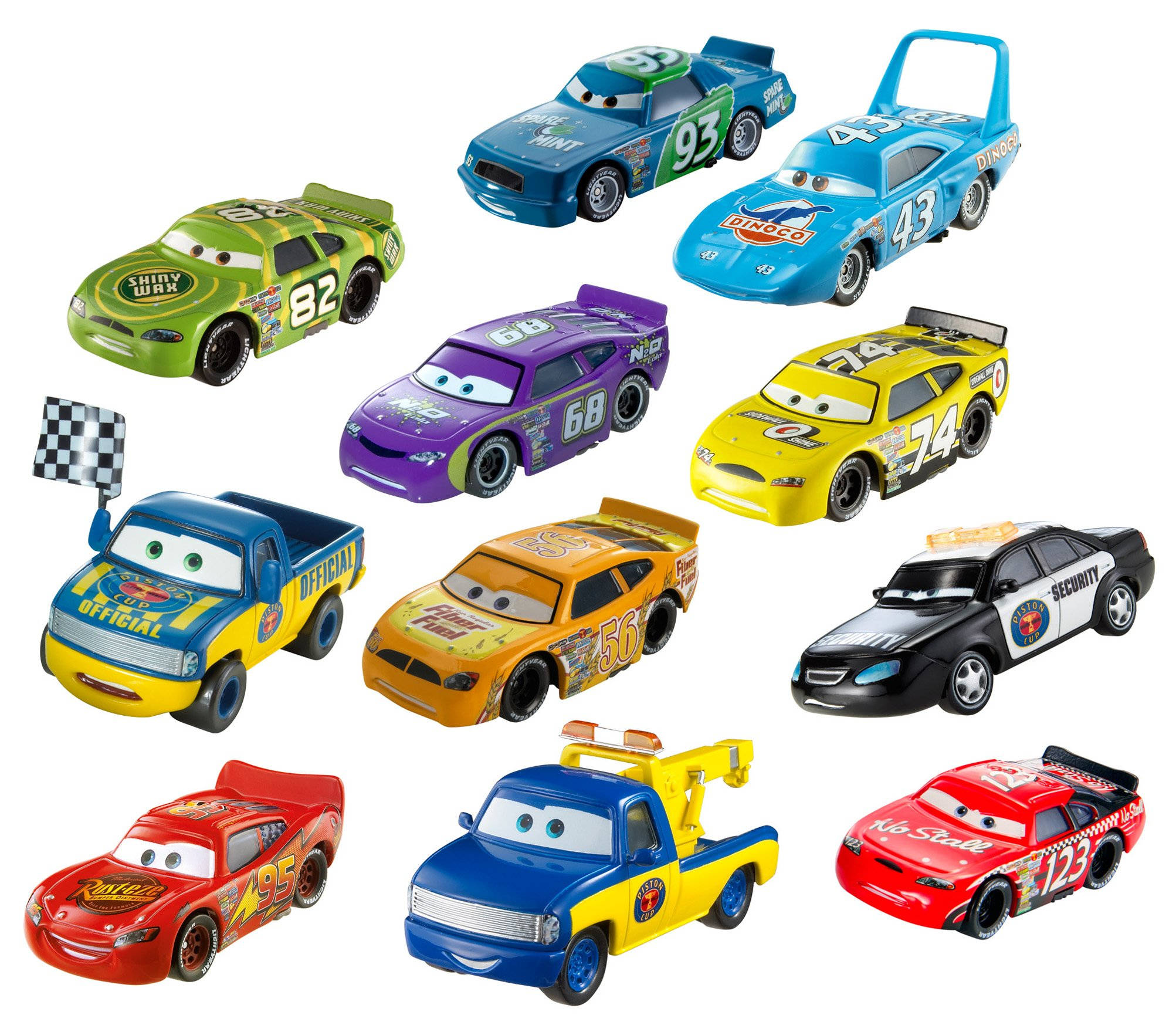 Disney/Pixar Cars Diecast Car Collection, 11-Pack