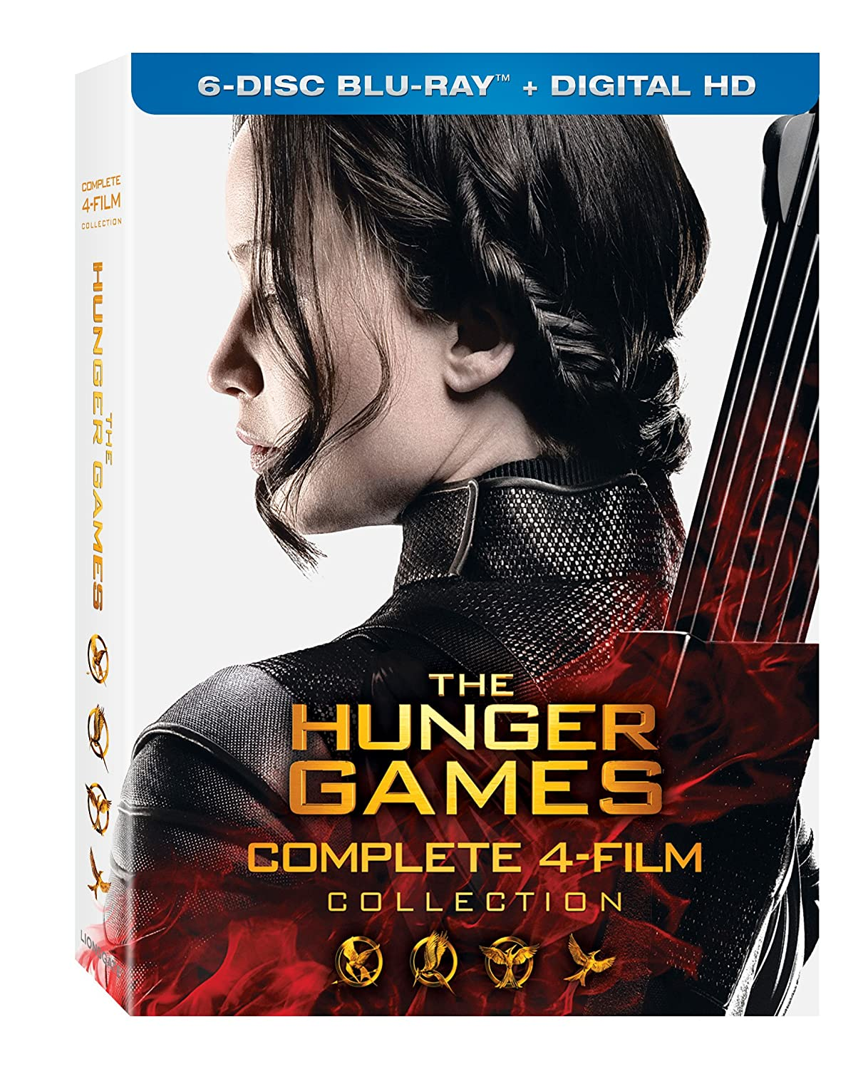 The Hunger Games: Complete 4 Film Collection (Blu-ray + Digital HD)