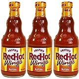 Frank's RedHot Buffalo Wing Sauce, 12 oz, 3 pk