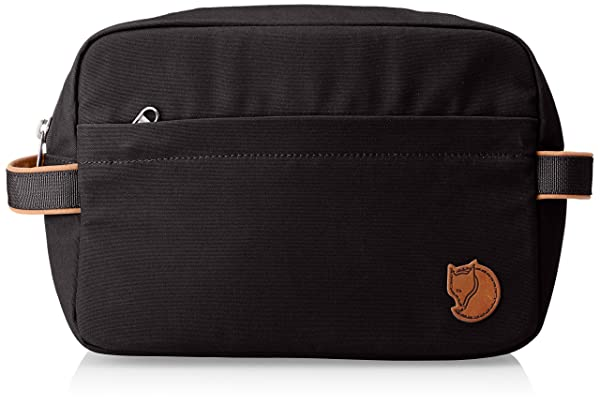 Fjällräven Unisex's Travel Toiletry Bag, Dark Grey, 17 x 26 x 9 cm (Color: Dark Grey, Tamaño: 17 x 26 x 9 cm)