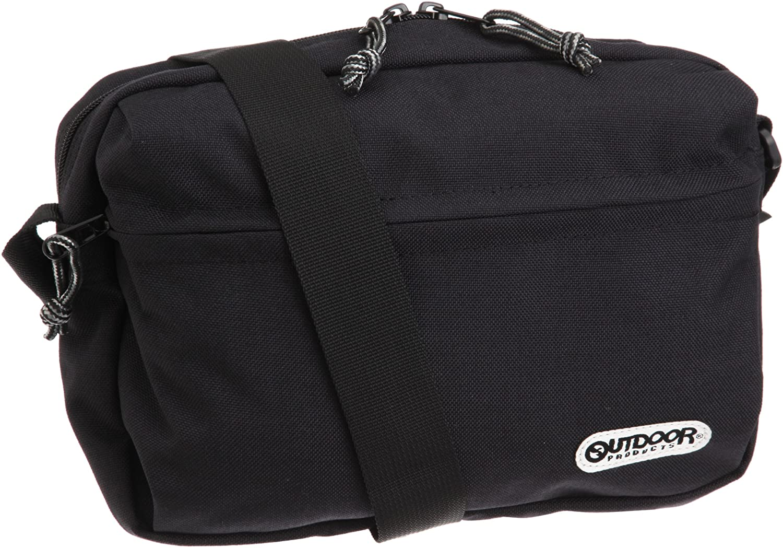 [アウトドアプロダクツ] OUTDOOR PRODUCTS 横型ショルダーバッグ 61519 (ブラック) : シューズ&バッグ通販 | Amazon.co.jp