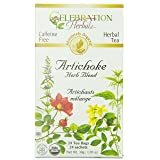 CELEBRATION HERBALS Artichoke Blend Organic 24 Bag, 0.02 Pound (Tamaño: 24 Tea Bags)