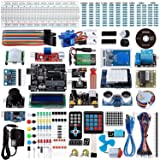 Smraza Uno R3 Starter Kit for Arduino with 200pcs Components Compatible with Arduino UNO Mega2560 (67 Items) (Color: UNO Ultimate Kit)