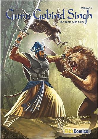 Guru Gobind Singh Volume 2 (Sikh Comics)