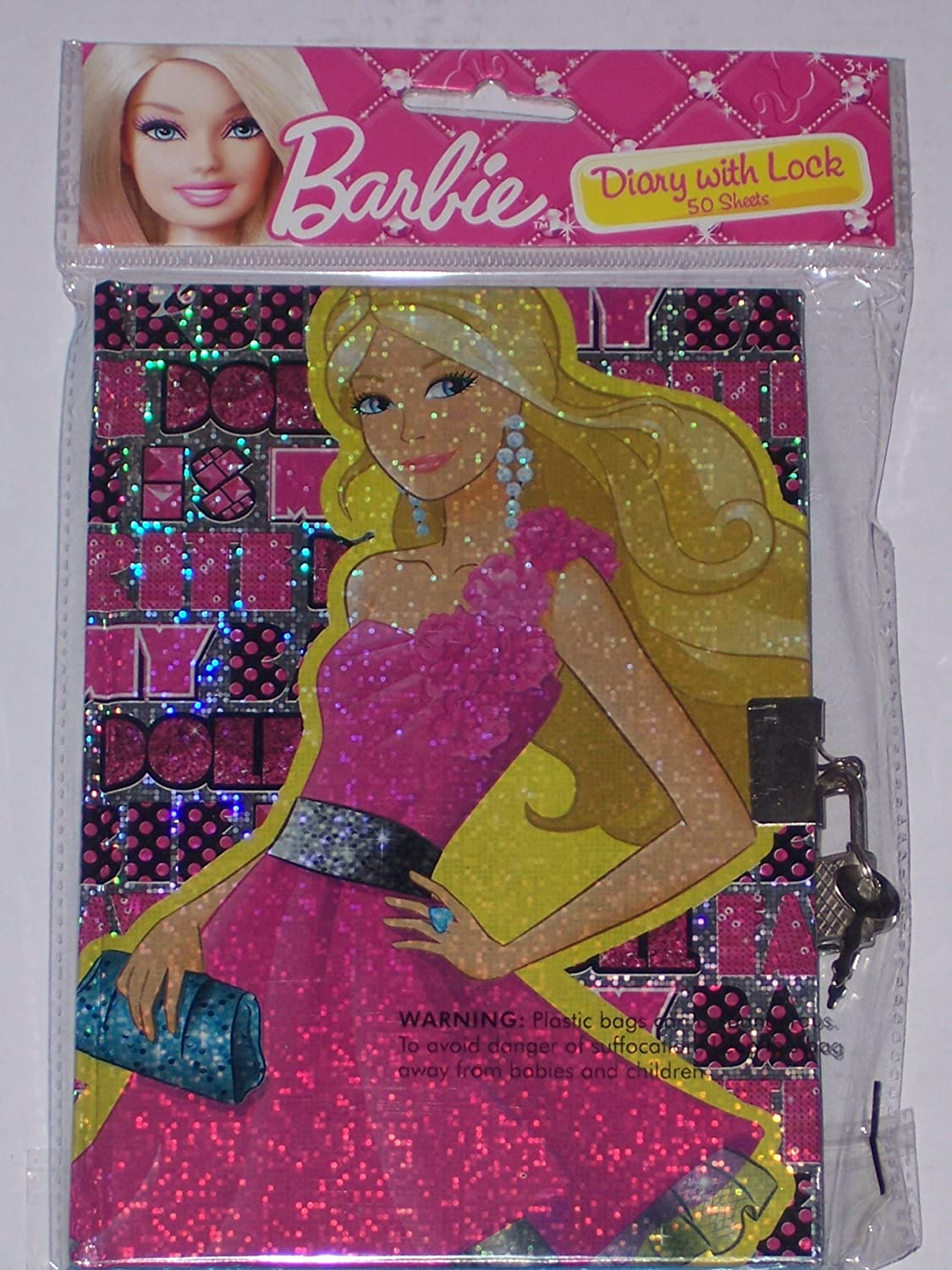 Barbie Secret Diary Barbie Diary With Lock