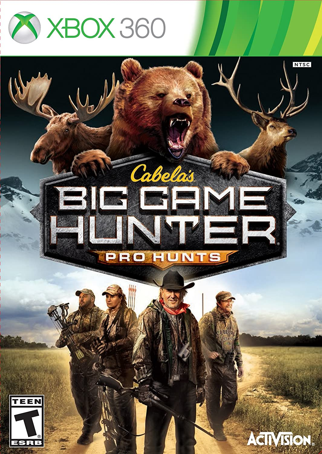 Cabelas: Big Game Hunter Pro Hunts lucky john croco spoon big game mission 24гр 004