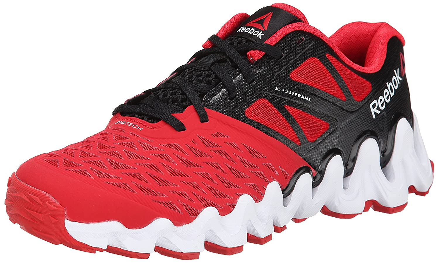 Reebok Mens Zigtech Big N Tough Running Shoe