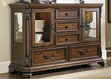 Server with Five Drawers