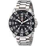Luminox Navy Seal Colormark Black Dial Steel Mens Watch 3152 (Color: Black/Silver)