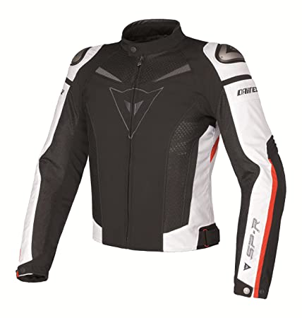 Dainese 1735143 Super Speed Tex Homme Multicolore (noir/blanc/rouge) Taille : 50
