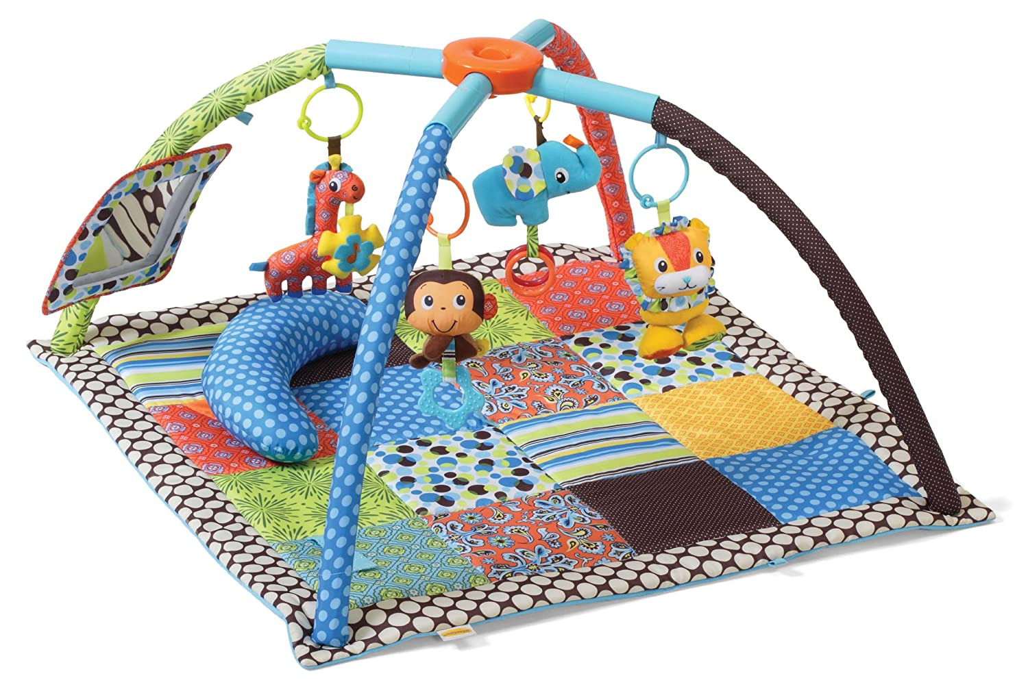 fisher price rainforest melodies and lights deluxe gym instructions