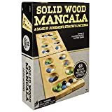 Wood Folding Mancala in Cardboard Sleeve (Packaging may Vary) (Color: Basic Pack)