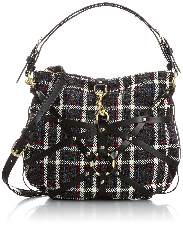Amazon.co.jp: [ディーゼル] DIESEL レディース バッグ SHIBARI BRITONJULIE S - shoulder bag X02894P04660072UNI P0466H2316 (チェック/): Amazonファッション