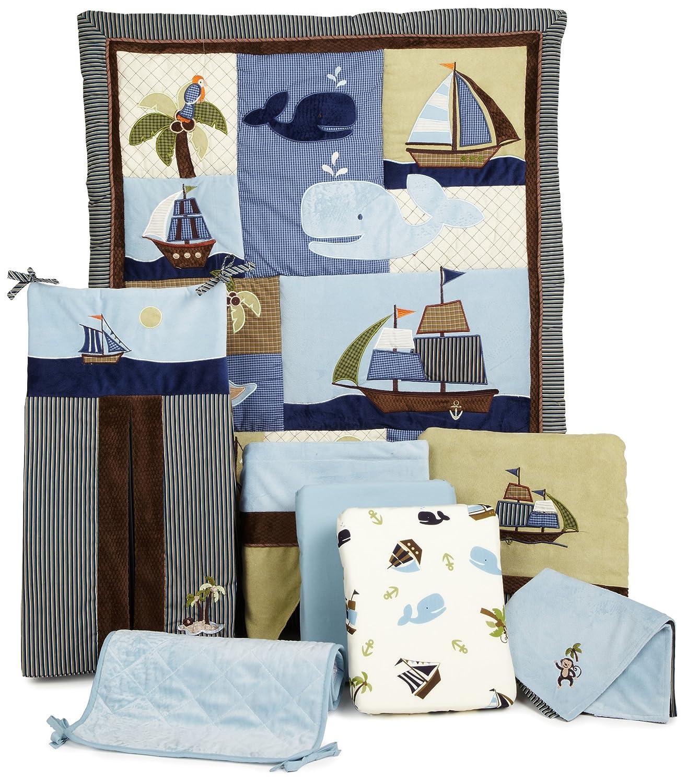 Nojo Ahoy Mate Baby Bedding