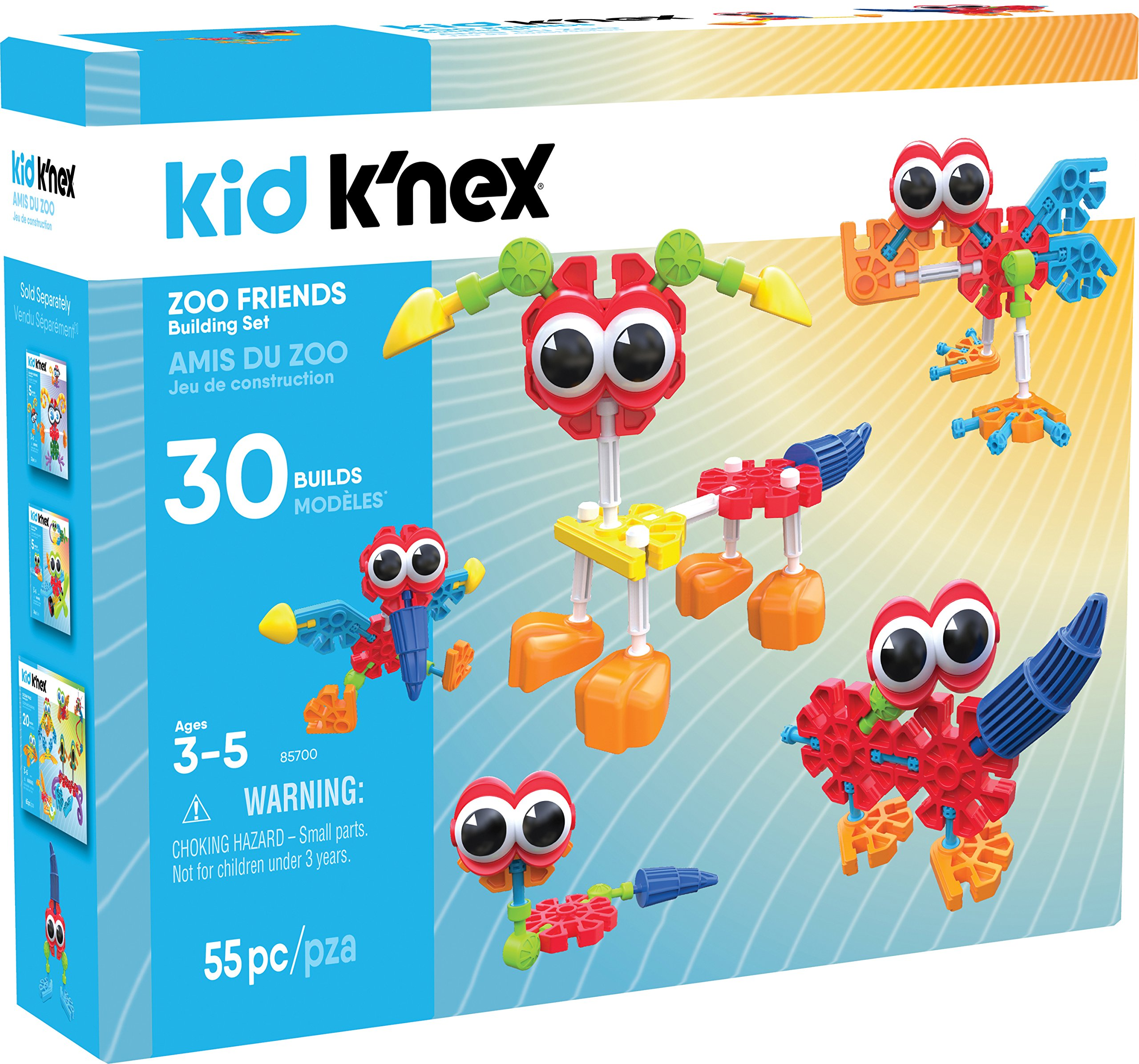 Knex Zoo Friends 0744476857002/
