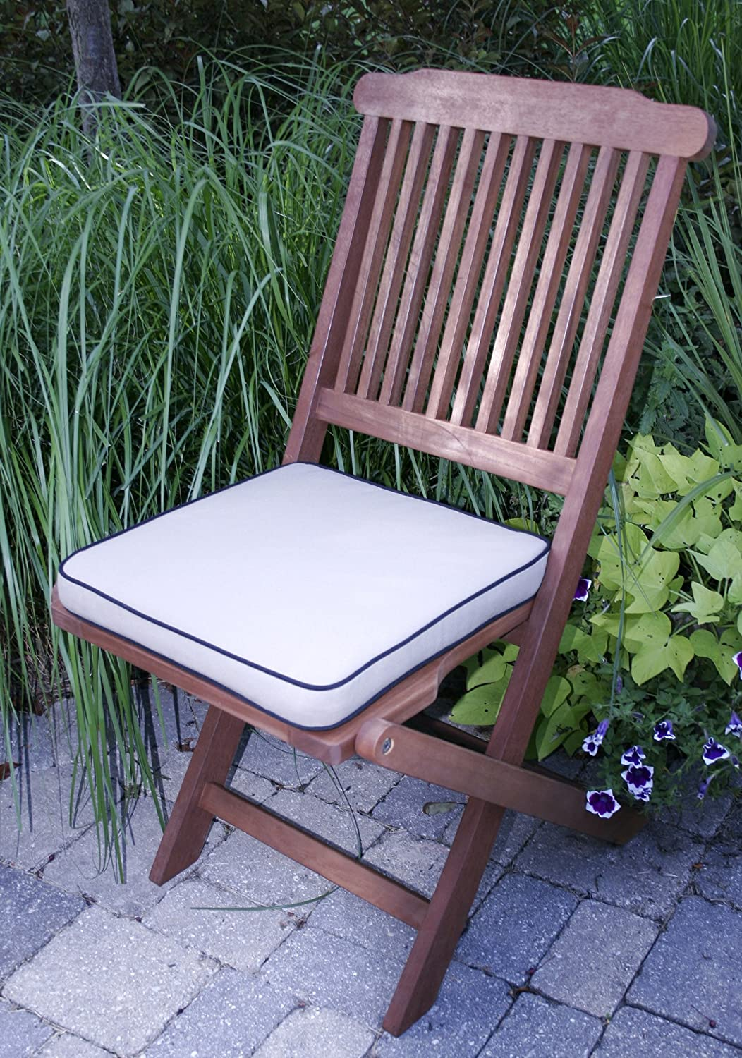New Eucalyptus 3pc Table Chairs Bistro Deck Patio Porch Outdoor Furniture Set Ebay