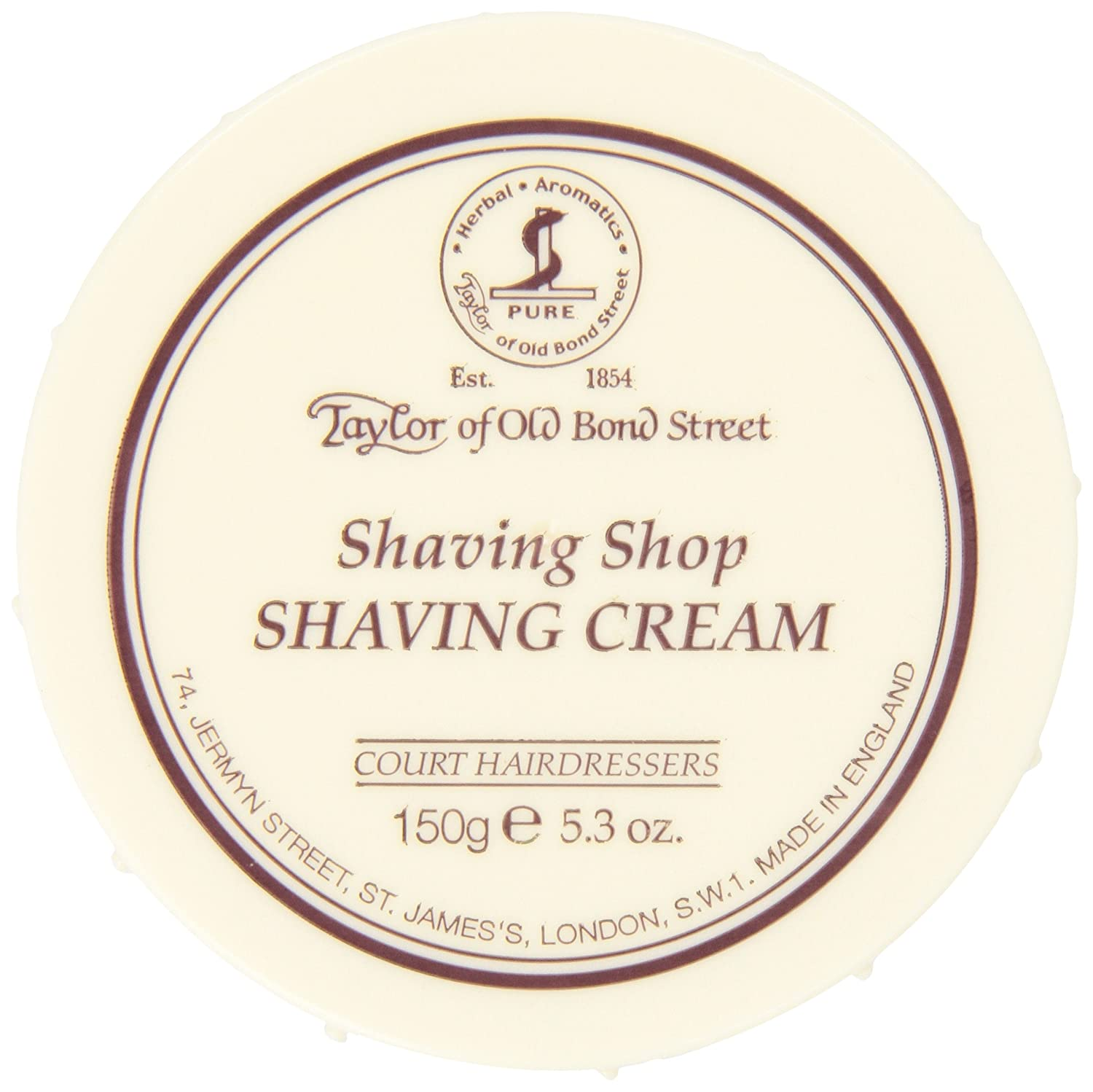 Taylor of Old Bond Street Shaving Shop, Shaving Cream Bowl, 5.3 Ounce taylor cole relogio tc013