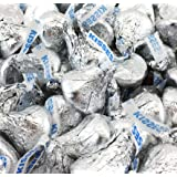 Hershey's Kisses, Milk Chocolate in Silver Foil (Pack of 2 Pound) (Tamaño: 2 Pound)