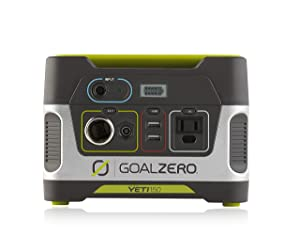 goalzero yeti 150 solar powered generator