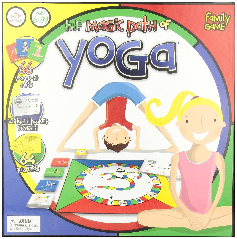 The Magic Path of Yoga Board Game