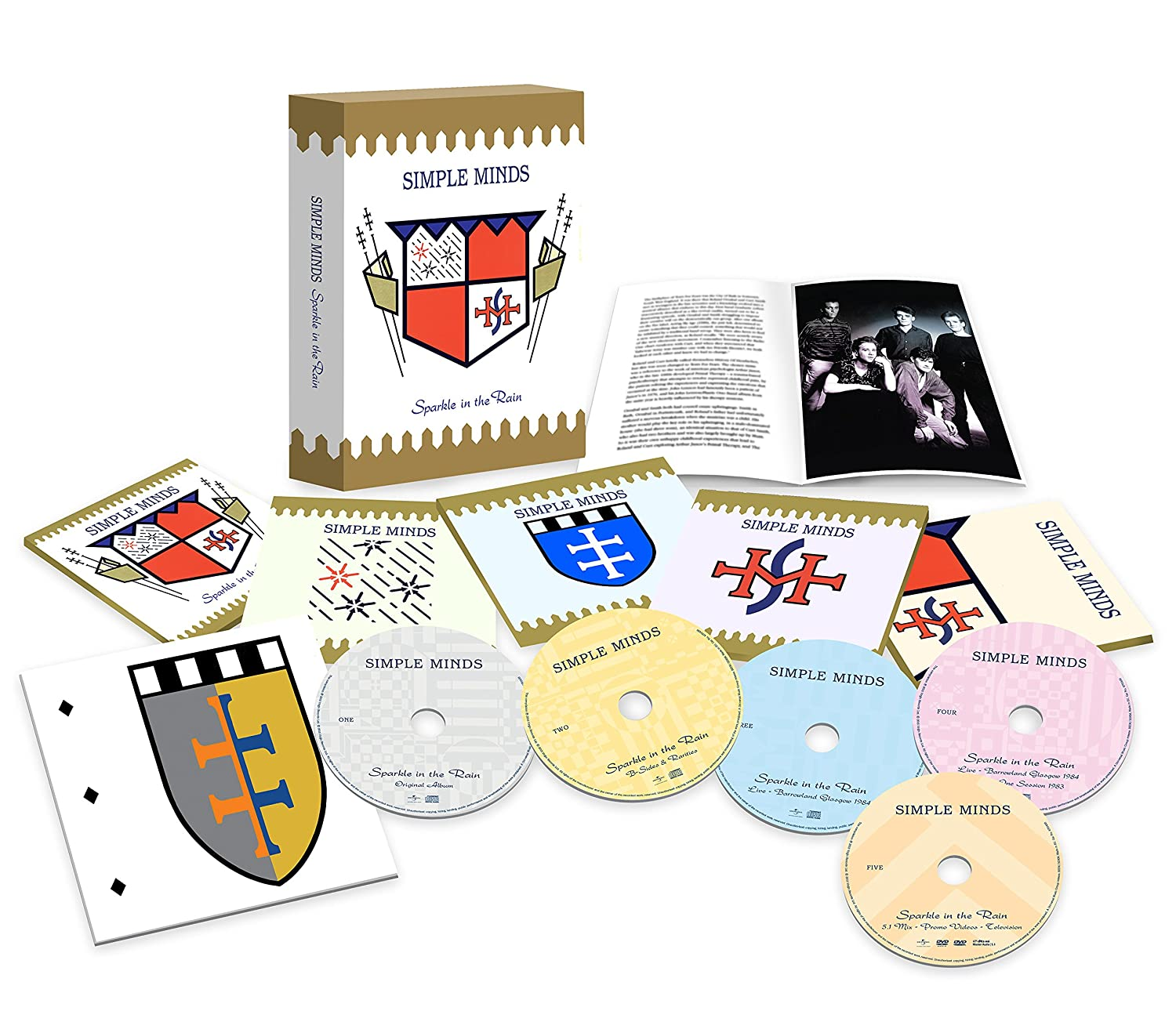 Simple Minds Sparkle In The Rain 5 Disc Deluxe Edition