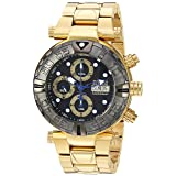 Invicta Men's 'Subaqua' Automatic Stainless Steel Casual Watch, Color Gold-Toned (Model: 23379)