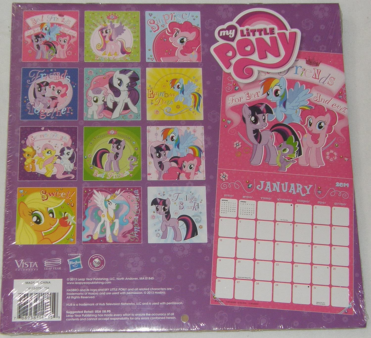 My Little Pony - 2014 Calendar