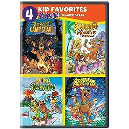 4 Kid Fav: Scooby-Doo Summer Break (DVD)