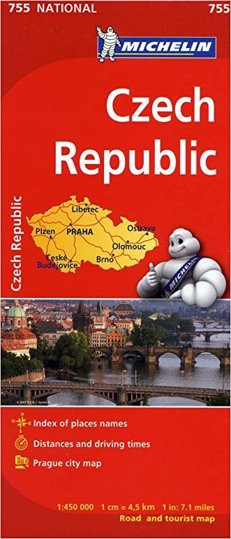Michelin Czech Republic Map 755 (Maps/Country (Michelin))