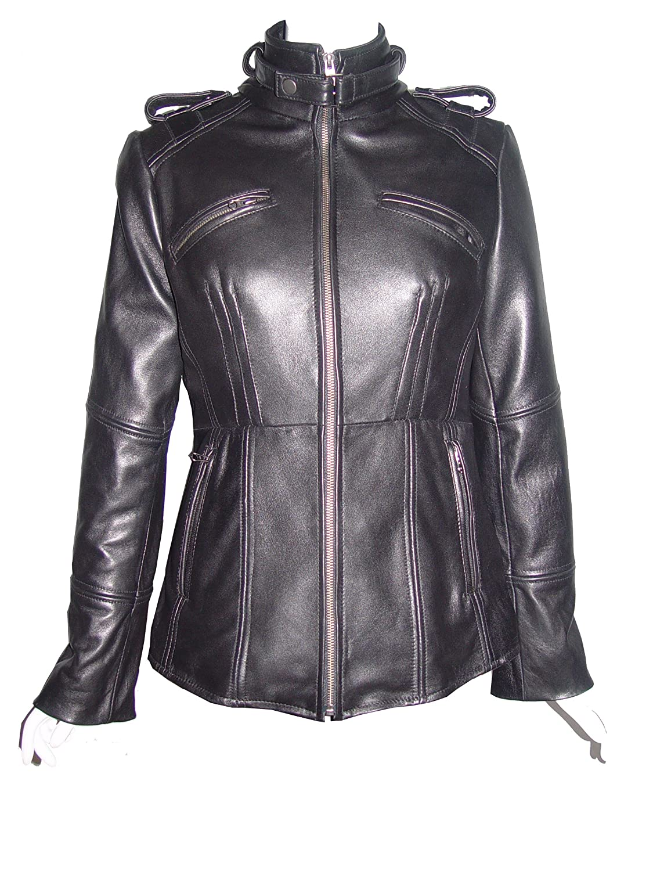 Nettailor WoHerren Plusgr??e 4205 Leder l?ssig JackePlacket Rei?verschluss Front Rahmen Tasche günstig online kaufen