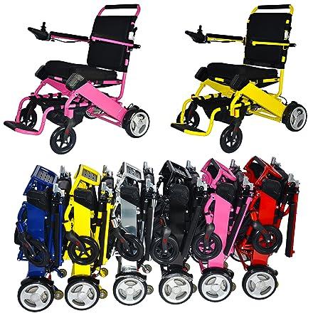 FOLD-N-GO Power Wheelchair (Royal Blue)