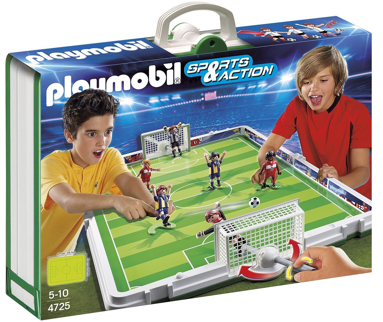 <p>Juego de futbol&iacute;n de playmobil</p>