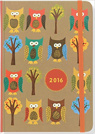 2016 Owls Weekly Planner (16-Month Engagement Calendar, Diary) written by Peter Pauper Press