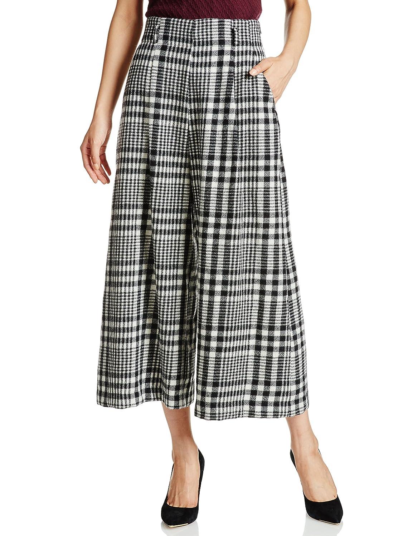 (スナイデル)snidel 先染めワイドパンツ : 服&ファッション小物通販 | Amazon.co.jp