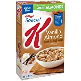 Special K Kellogg's Breakfast Cereal, Vanilla Almond, 18.80 Ounce Box