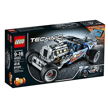 Amazon - LEGO Technic 42022 Hot Rod Model Kit - $26.99