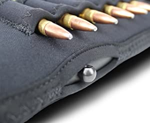 Beartooth StockGuard 2.0 - Premium Neoprene Gun Stock Cover - Rifle Model (Black) (Color: Black)