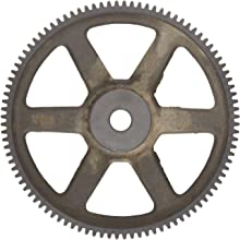 Martin Spur Gear, 14.5 Pressure Angle, Cast Iron, Inch, 4 Pitch