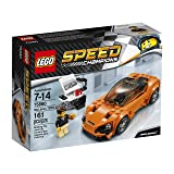 LEGO 75880 Speed Champions McLaren 720S Building Toy, 161pcs, Orange/Black (Color: Multi)