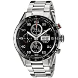 TAG Heuer Men's CV2A1R.BA0799 Stainless Steel Watch (Color: Silver)