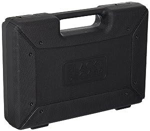 BLACK+DECKER BDA91109 Combination Accessory Set, 109-Piece (Color: black, Tamaño: 109-Piece)