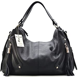 SAC DESTOCK - Sac à Main CUIR Grainé - Réf PICADILLY/ Nouvelle Collection Printemps/été 2015 (NOIR)   de clients pour plus d'informations