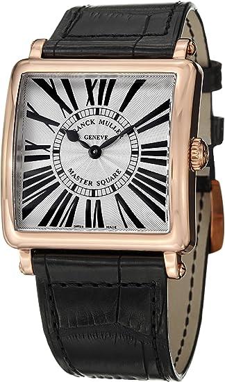 Franck Muller Master Square Rose Gold Quartz Watch 6002 M QZ R 5N